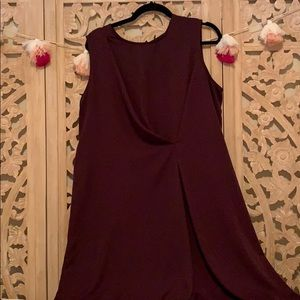 Dresses & Skirts - Prologue merlot shift dress
